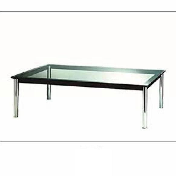 Tavolino Glass Le Corbusier | Tavolini moderni da Salotto | Pinterest