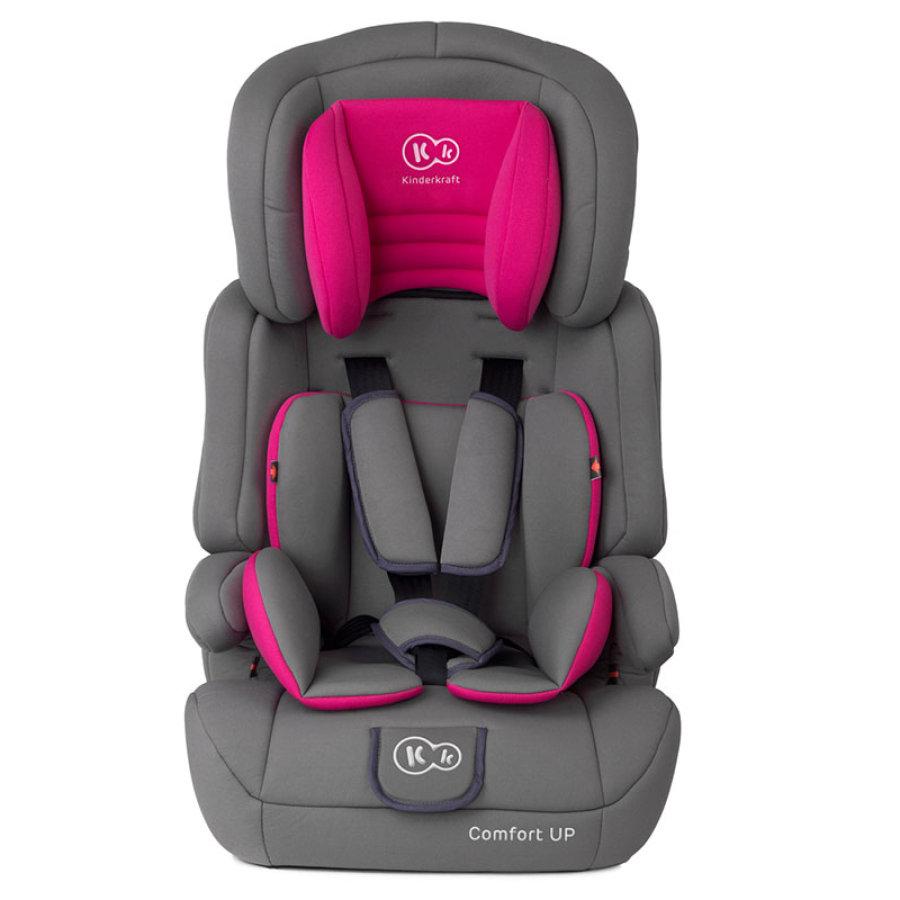 Kinderkraft Bilbarnstol Comfort Up Pink Nyfodda Produkter Och Barnvagnar