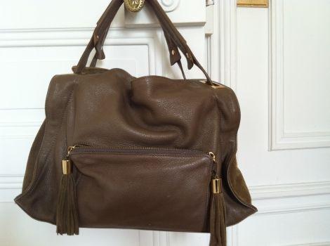 sandro taupe sac handbag | Sandro Sacs Femme Sacs en cuir Sacs Sandro Sacs en cuir Sandro Sacs en ...
