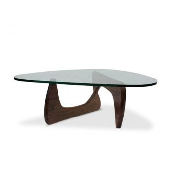Noguchi Coffee Table Solid Walnut Premium Replica Vstglkcts175