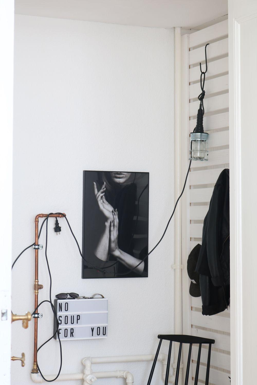 AuBergewohnlich DIY Flur Garderobe