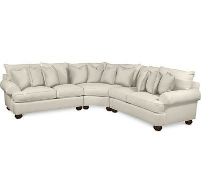 sectional pleated arm find crafted furniture visit nearest retailer thomasville sofas reviews benjamin leather sofa