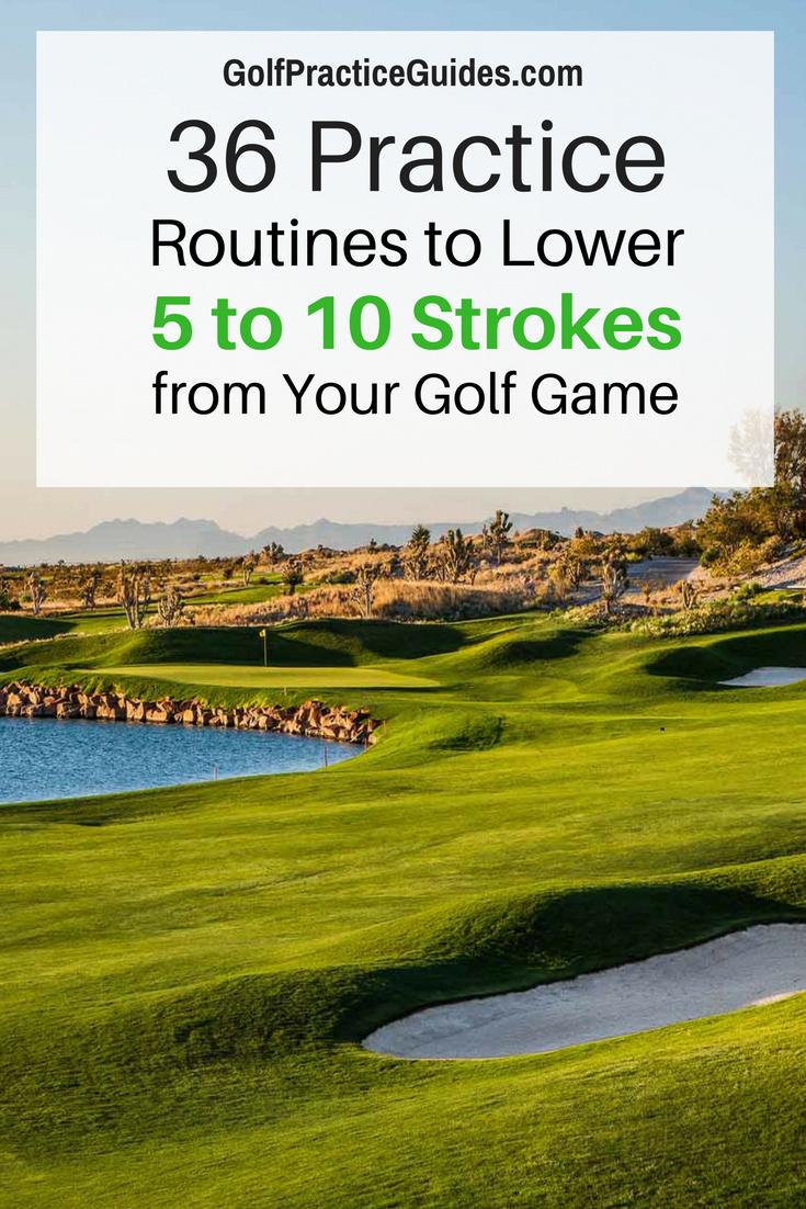 The ultimate golf training program to drop scores, improve