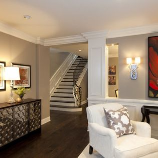 Benjamin Moore   Pashmina Staircase Design Ideas   Traditional   Entry   San  Diego   Robeson