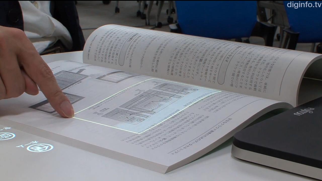 Fujitsu: Papier gleich #Touchscreen www.digitalnext.de/fujitsu-papier-wird-zu-touchscreen/