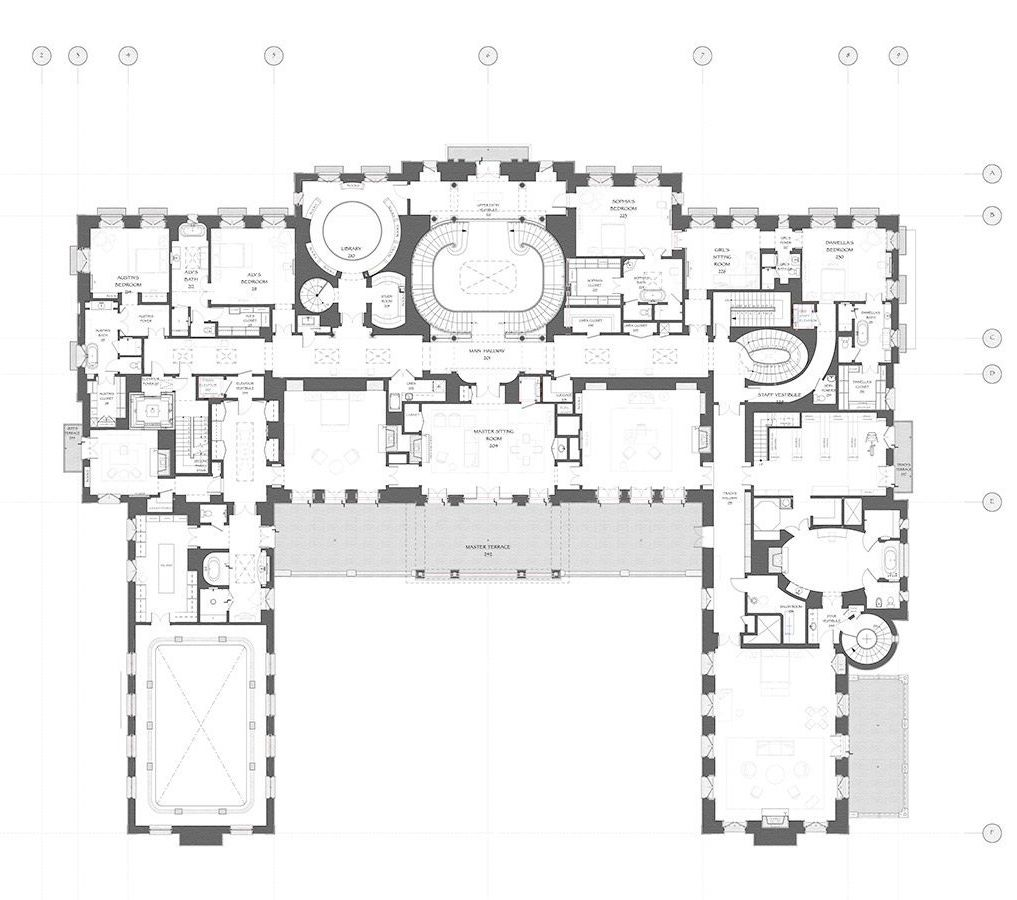 Pin By Majed Almuhannadi On Floor Plans Architectural Floor Plans Mansion Floor Plan Floor Plans