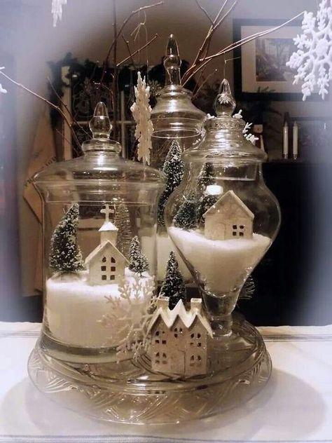 Photo of Una scena Natalizia in miniatura per decorare casa! 15 ideas … Ispiratevi !!!