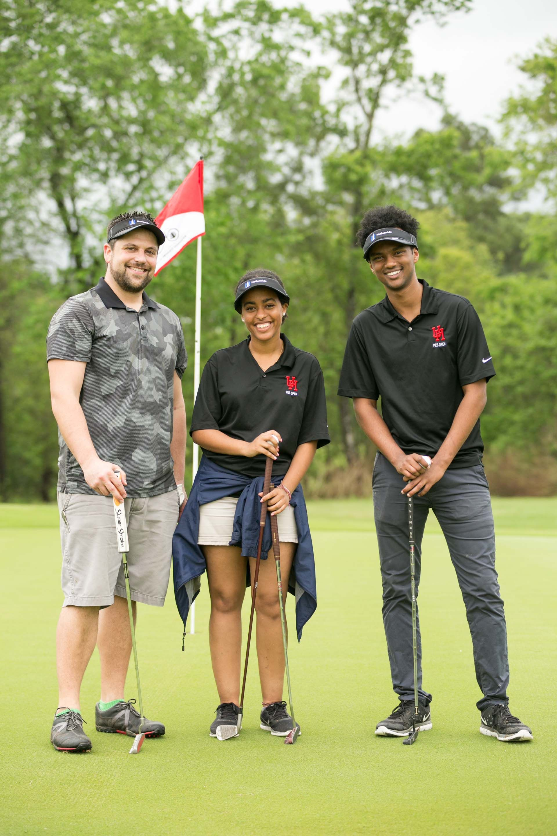 PES Golf Tournament raises money for scholarships. #UHBauer