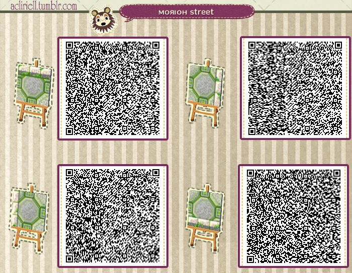 Just Animal Crossing New Leaf Qr Codes For Paths Only Animal