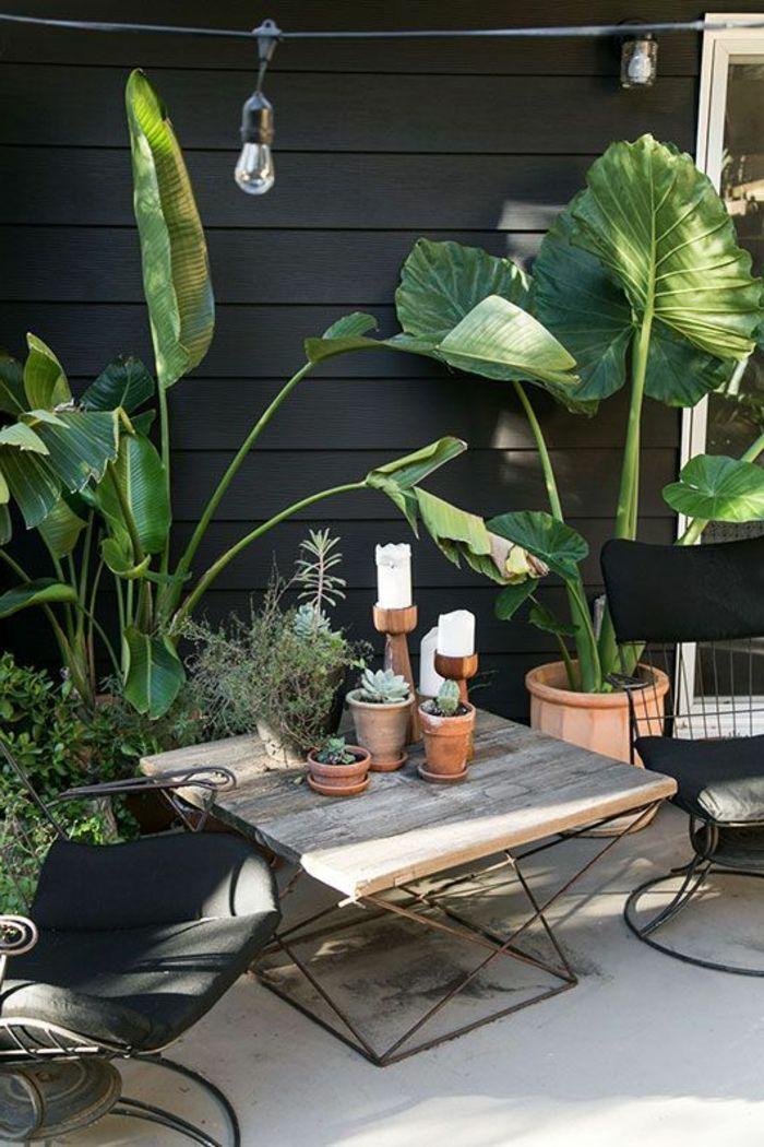 Dekoideen terrasse dekorationen auf terrasse tisch sessel for Lampen tisch