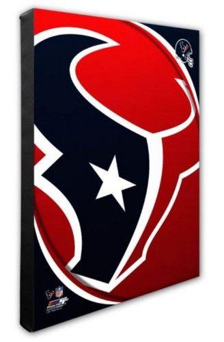 Photo File Houston Texans Team Logo Canvas Print Picture ...