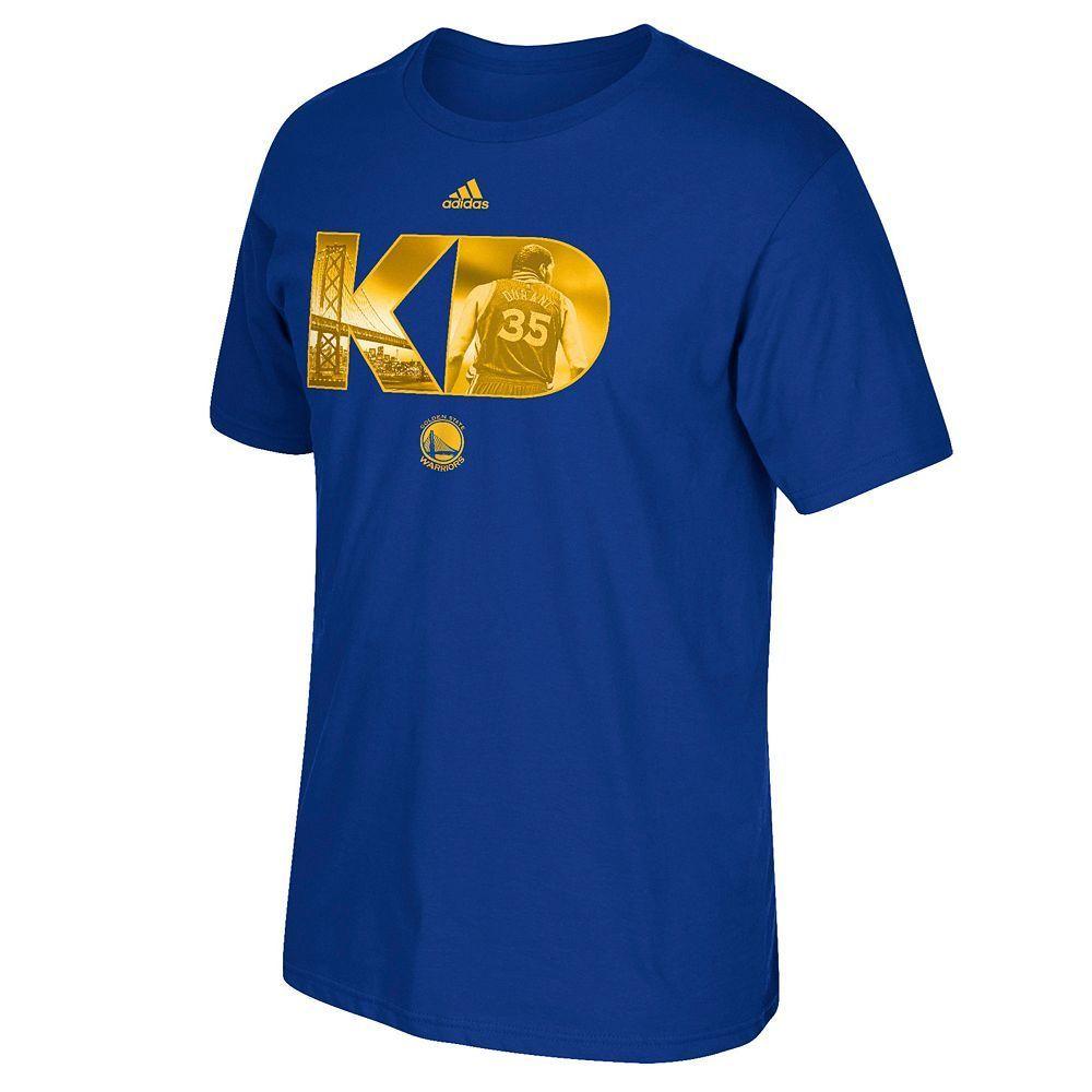 547837e2467f Men s Adidas Golden State Warriors Kevin Durant City Monogram Tee ...