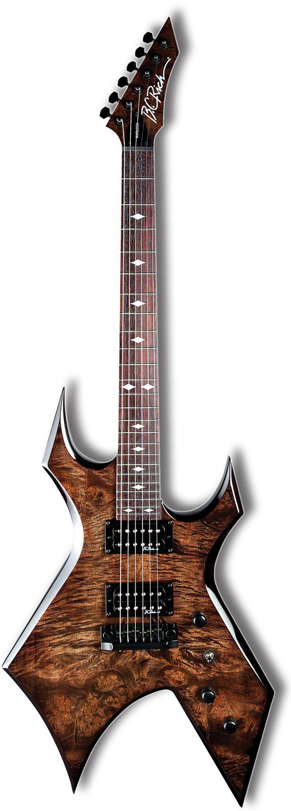 B C Rich Warlock Plus In Black Vapor Guitarra Electrica Guitarras