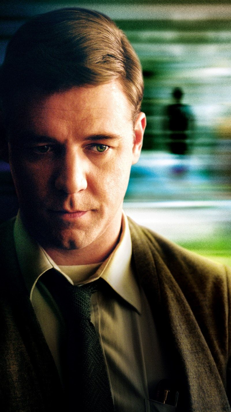 A Beautiful Mind (2001) Phone Wallpaper Great movies