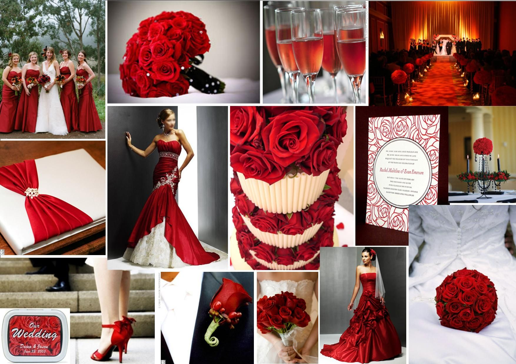 Red and grey wedding rose is a rose is a rose theme one white red and grey wedding rose is a rose is a rose theme one white dress junglespirit Gallery