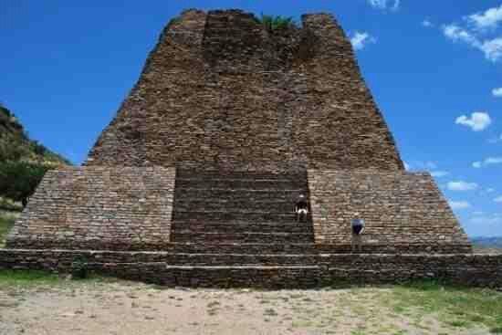 Pyramid @ La Quemada- Zacatecas, Mx