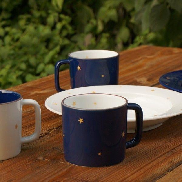 波佐見焼 マグカップ お星さまのマグ Memetablewearの画像1枚目 マグカップ マグ カップ
