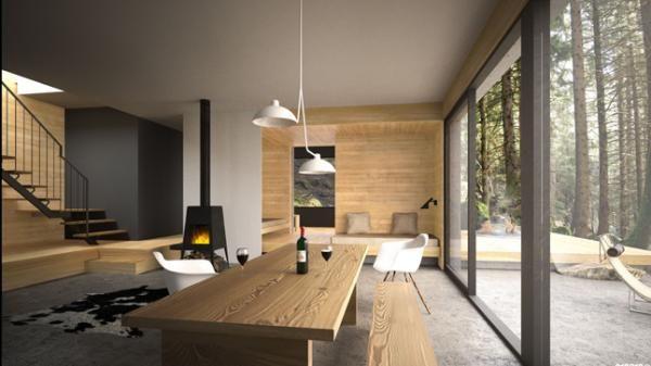 SPAHAUS : chalets contemporains à Mont-Tremblant | Immobilier | CASA