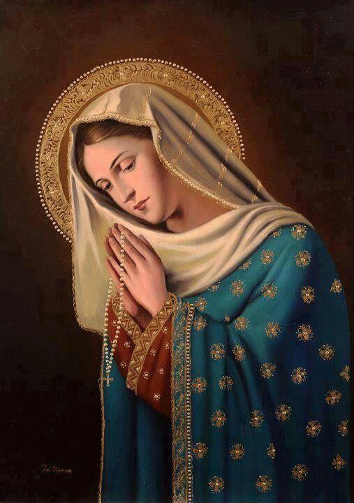 Prayer For Wednesday With 3 Ave S Mae Mary Nossa Senhora Do