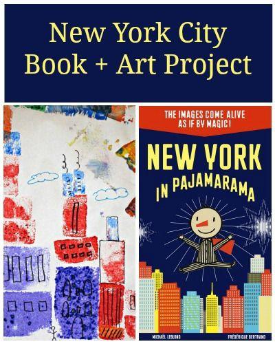 New York In Pajamarama And Cityscape Sponge Art