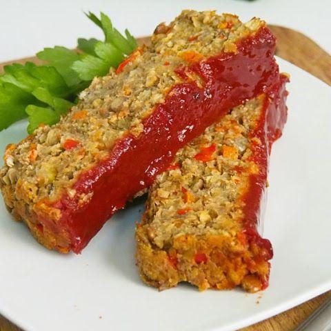 Best Lentil Meatless Meatloaf