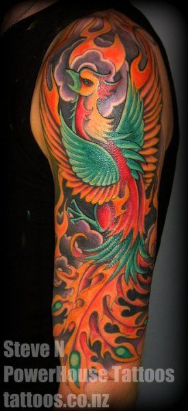5bf2907374519 About 'phoenix tattoo sleeve'|How Much Full Back Japanese Tattoo Cost?