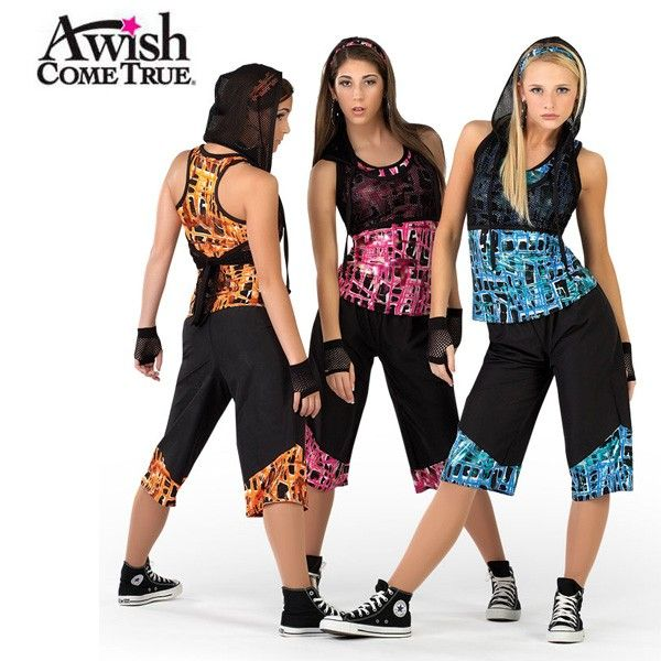 hip hop dance costumes for teenage girls - Google Search