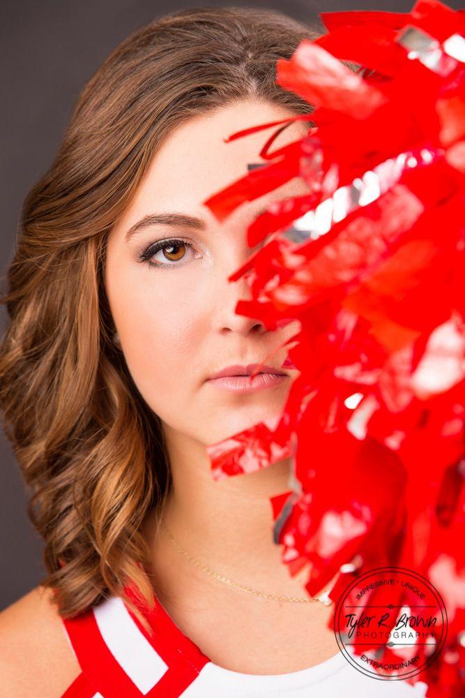 Lauren Johnson - Frisco - Studio - Cheerleader - Senior Portraits - Class of 2016 - Kingston High School - Oklahoma - Texas - Frisco - Senior Pictures - #seniorportraits - Ideas for Girls - #seniorpics - Tyler R. Brown Photography