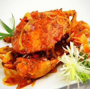 Resep Kepiting Saus Padang Resep Kepiting Resep Makan Siang Sehat
