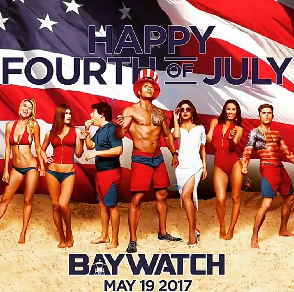 8dfa02c17d2 Dwayne Johnson and Zac Efron in Baywatch (2017) | Movies and TV ...