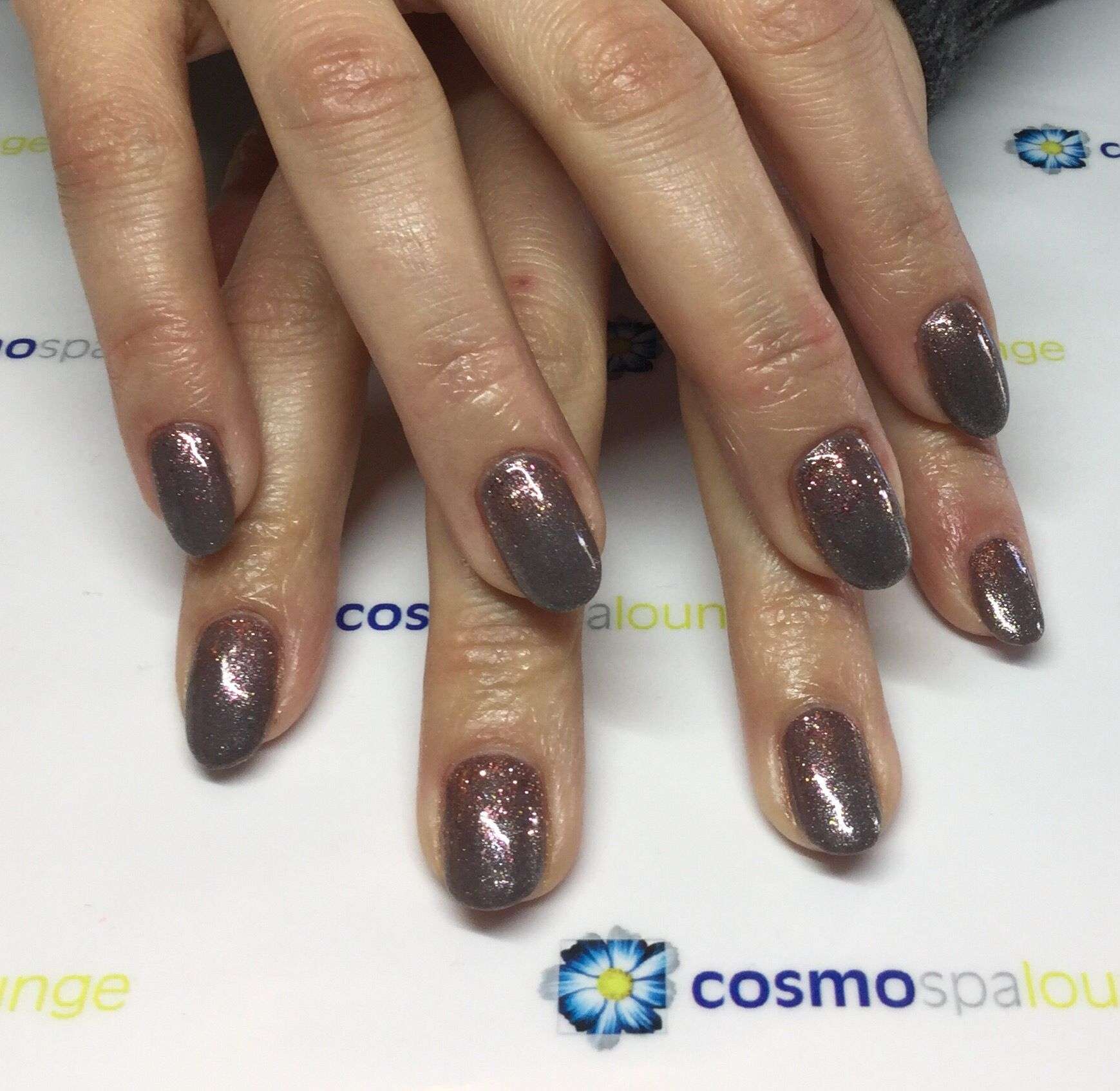 #gelish #nailart #winter #cosmospalounge #gradient