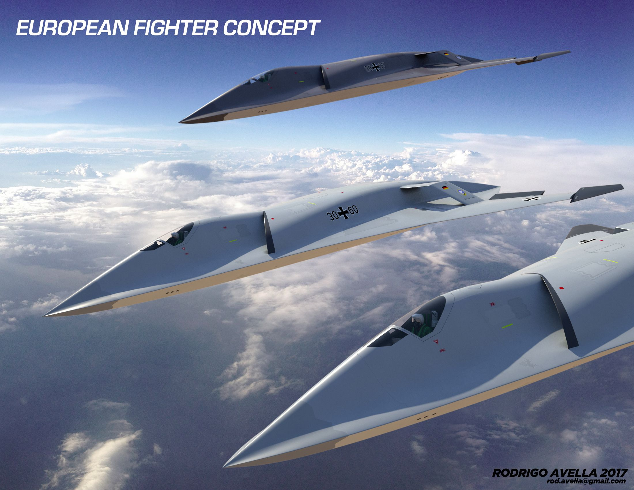 Concept for a next generation air dominance European