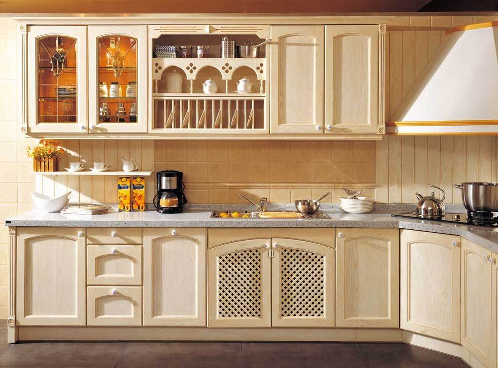 Solid Wood Solid wood kitchen Solid