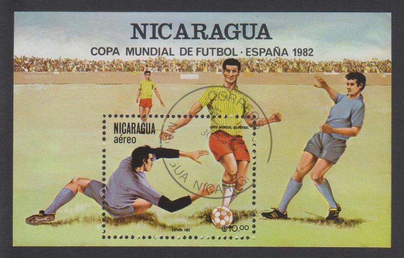 Copa Mundial de Futbol España´82 (Nicaragua)