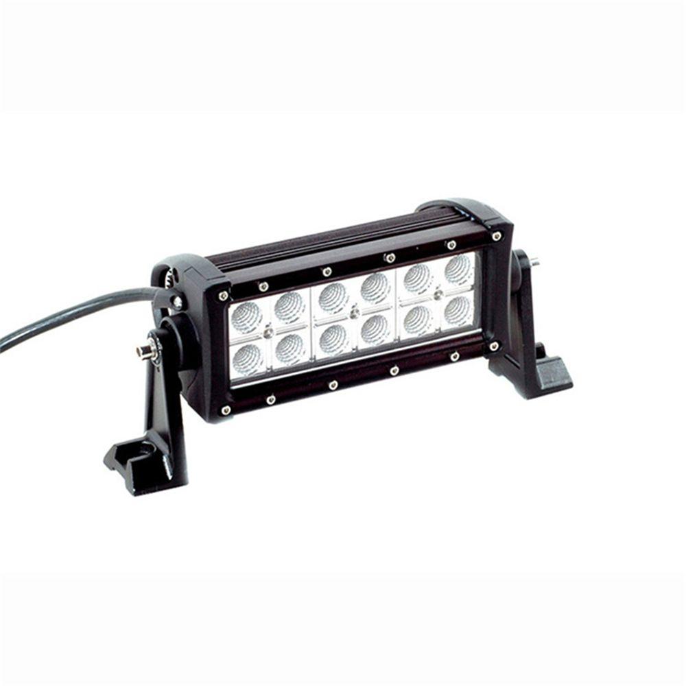 7 5inch 36w 2520lm Led Light Bar Spot Flood Combo Beam Offroad Light 12v 24v Work Lamp For Atv Suv 4wd 4x4 Boating Hunting Led Light Bars Work Lamp Car Lights