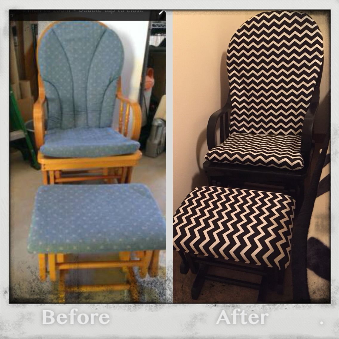 Glider/rocker re-do- for Sale! New Life Nursery- Lynnwood, Wa | My ...