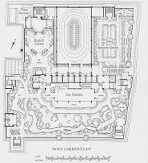 Bilderesultat For Roof Garden Plan Drawing