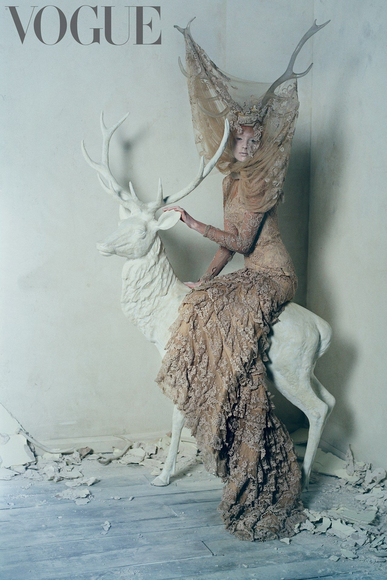 Alexander McQueen Savage Beauty shoot - Tim Walker - March 2015 issue