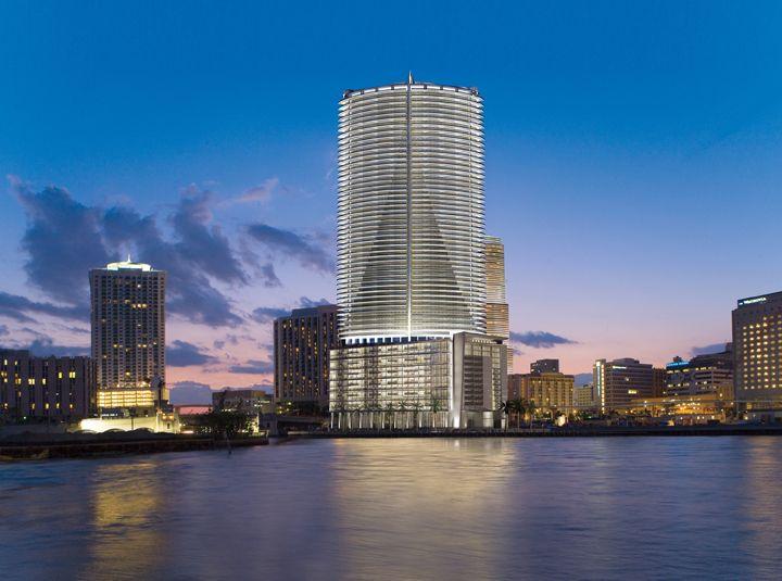 Exterior Building Epic Hotel Miami Photo Kimpton Hotels