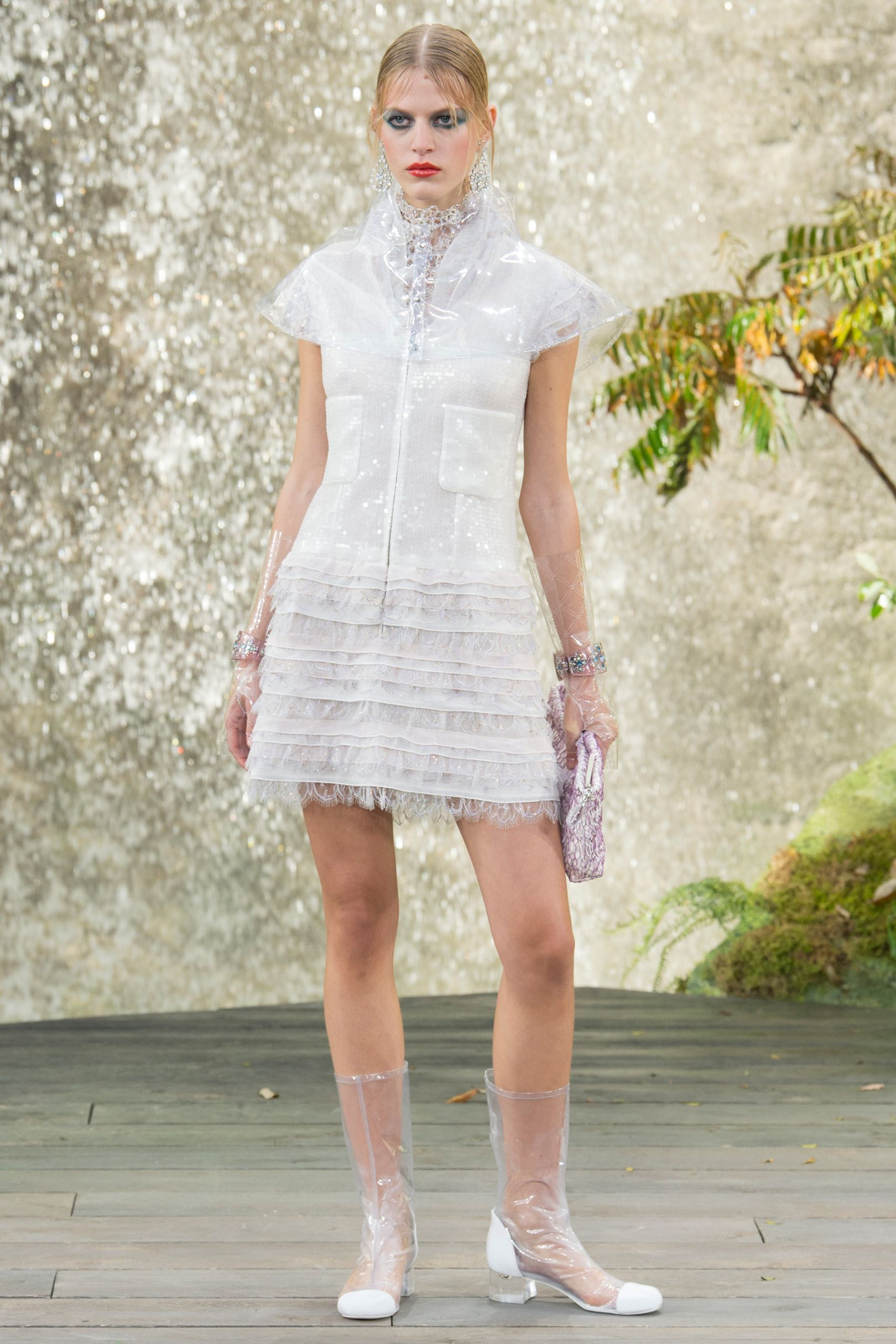 Chanel spring summer 2018 couture dresses