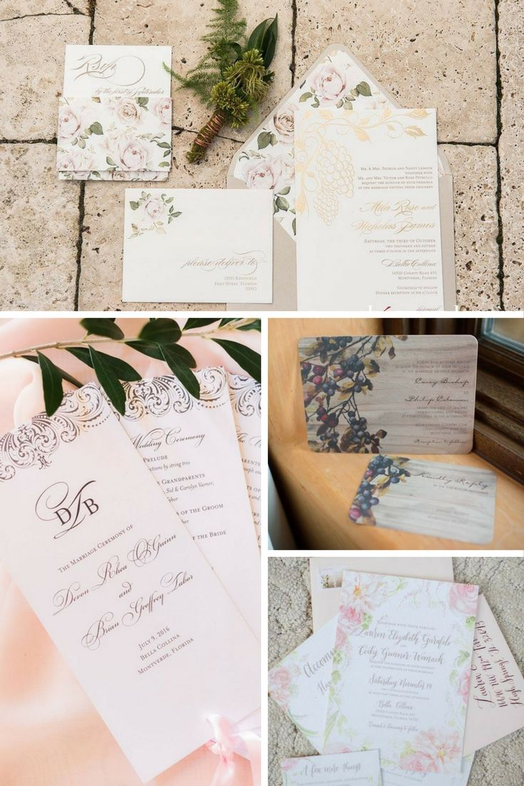 Just In Case You Needed A Little Invitation Inspiration: Exquisite Tuscan Wedding Invitations At Websimilar.org