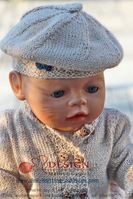 Målfrid Gausel 18 inch doll knitting patterns; the summer special ...