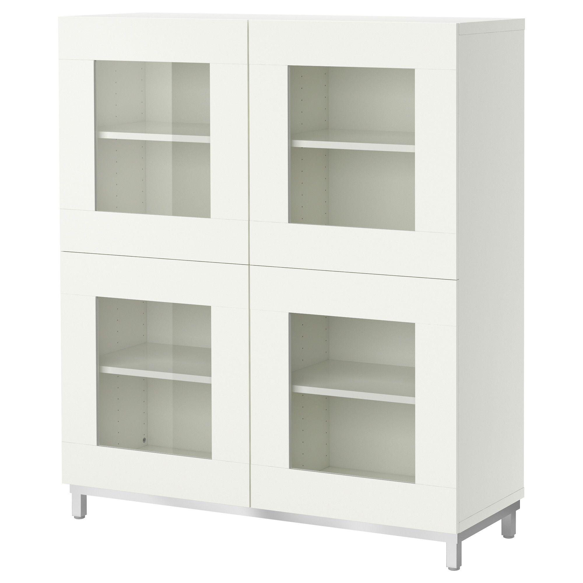 Best Shelf Unit With Glass Doors  Ikea