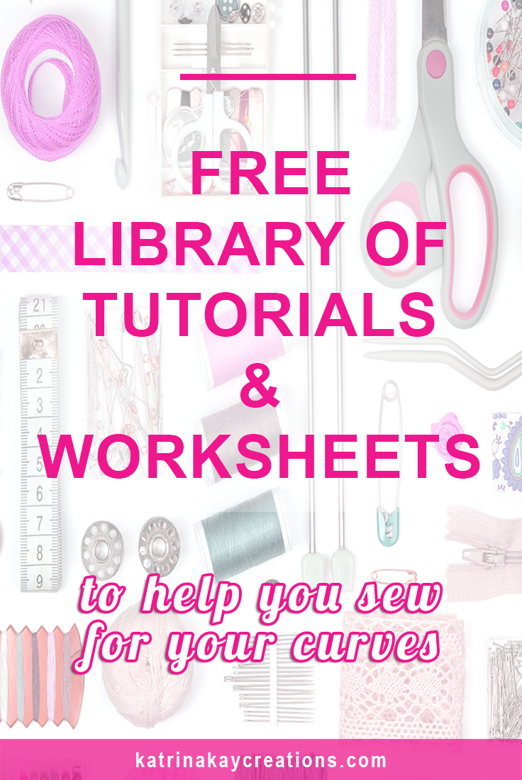 worksheet Sewing Worksheets free tutorials worksheets to help you sew for your curves curvy curves