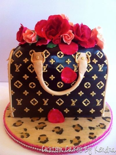 Louis Vuitton  By kendra_83 on CakeCentral.com