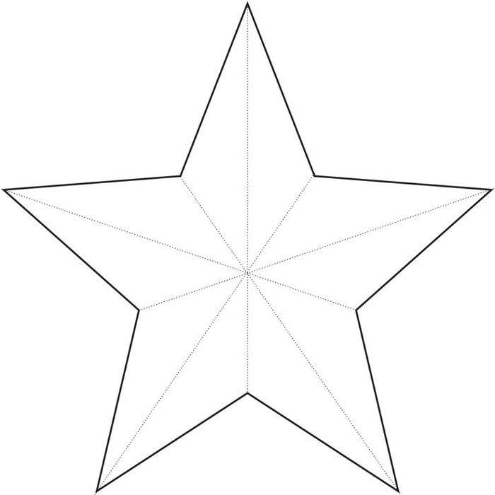 Molde De Estrela 30 Imagens Para Imprimir E Recortar Artesanato Passo A Passo Molde Estrela Estrela De 5 Pontas Modelo De Estrela