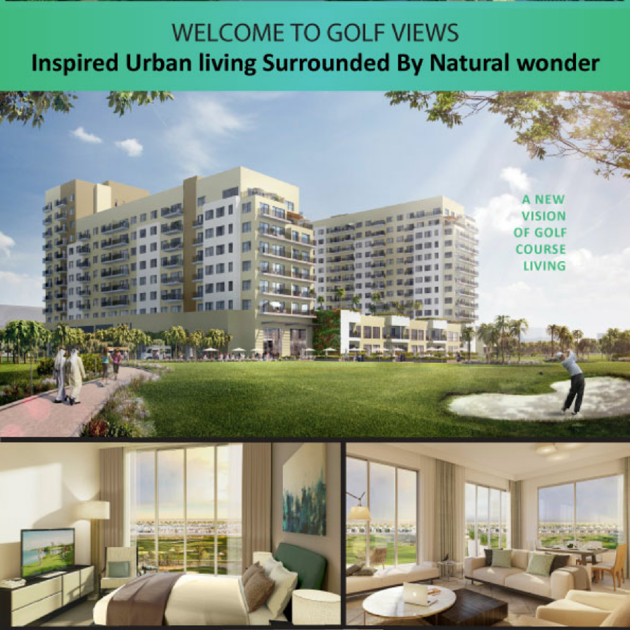 Golfview Apartments: Golf View Apartments In Dubai South By Emaar