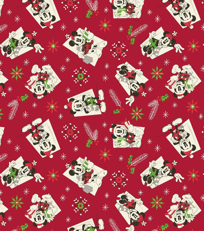 Disney Mickey Minnie Holiday Cotton Vintage Cute Christmas Wallpaper Wallpaper Iphone Christmas Christmas Cards Handmade