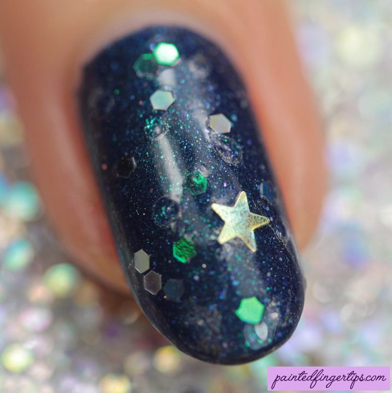 Painted Fingertips | Night sky nail art - macro | Nail Art Community ...