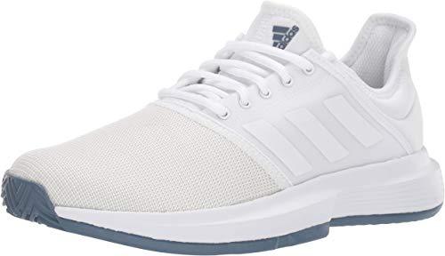 Amazon Com Adidas Men S Gamecourt Tennis Shoe Shoes Tennis Shoes Table Tennis Shoes Shoe Reviews